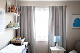 White And Grey Nursery Curtains Nursery Curtains Patterned Yellow And White Blackout Curtains