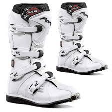 motocross bike boots forma cougar kids youth mx motocross boots white dirtbikebitz