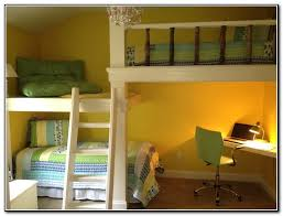 Modren Kids Bunk Beds With Desk Loft Bed Design Decorating - Kids bunk bed desk