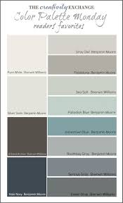 readers u0027 favorite paint colors color palette monday favorite