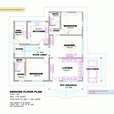 3 floor house plans 3 bedroom house plans in kerala single floor bedroom and single