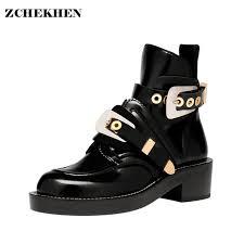 short black motorcycle boots european women ankle motorcycle martin short boots hollow out autumn