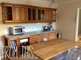 Diy Kitchen Makeovers - diy kitchen makeover using ronseal cupboard and tile paint