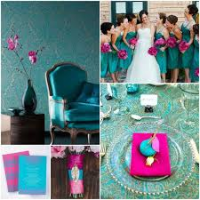 what color matches with pink and blue what color matches fuchsia for wedding color pallets