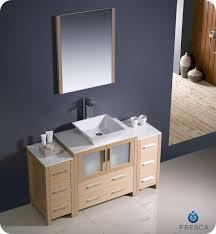 Fresca Torino FVNLOVSL Modern Bathroom Vanity W - Bathroom vanity cabinet for vessel sink