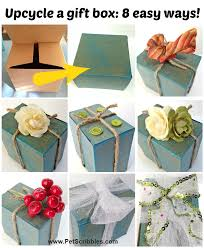 decorate gift box ideas 8 easy ways gift boxes upcycle and boxes