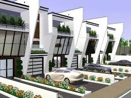 Row House Model - gabi89 u0027s modern row house ii