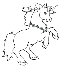 printable unicorn coloring pages printable coloring page