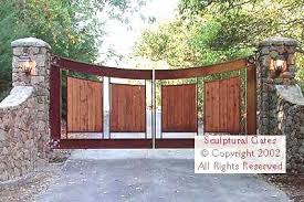 custom steel and wrought iron gates