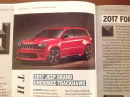 jeep trackhawk back 2017 jeep trackhawk srt hellcat forum