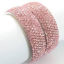 rhinestone bangles bracelet images Pink rhinestone bangles view specifications details of jpg