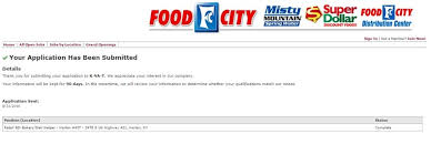 how to apply for food city jobs online at foodcity com careers