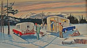Alaska travel trailers images The alaskan camper vintage trailer restoration including jpg