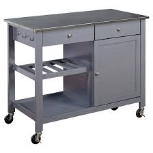 kitchen island cart with stainless steel top marvelous stainless steel kitchen island cart mesmerizing kitchen