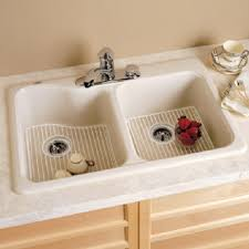 American Standard Silhouette  Shallow Double Bowl Kitchen Sink - American standard kitchen sink