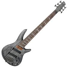 Disc Ibanez Srff806 Fanned Fret 6 String Black Stain At Gear4music Com