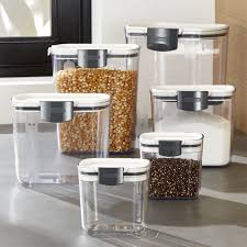 wine kitchen canisters storage canisters crate and barrel