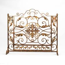 Custom Size Fireplace Screens by Living Room Old World Custom Copper 3 Panel Fireplace Screen 60