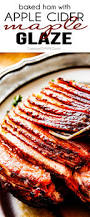 how to prepare a ham for thanksgiving baked ham with apple cider maple glaze carlsbad cravings