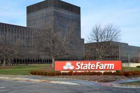 the state farm headquarters building in bloomington