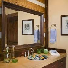 Framed Bathroom Mirror Large Vertical Framed Bathroom Mirrors Stylish Framed Bathroom