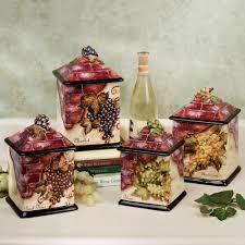 tuscan kitchen canisters ideas house decorations and furniture image of tuscan kitchen canisters wine