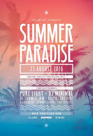 111 best summer flyer design images on pinterest graphics