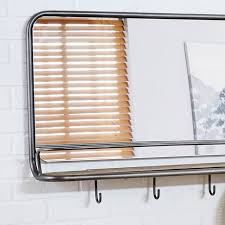 entryway mirror hooks large west elm