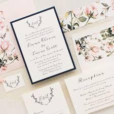 garden roses wedding invitations beacon lane