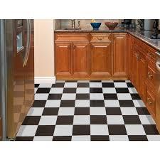 achim nexus black and white self adhesive vinyl floor tile set of
