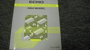 2002 toyota echo electrical wiring diagram service manual rx476