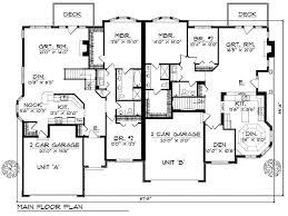 14 best duplex plans images on pinterest family house plans