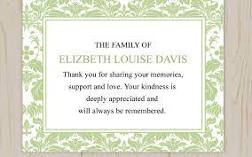 sympathy thank you cards thank you cards sympathy personalized greetings cards thank you