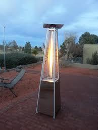 Pyramid Patio Heaters Gardensun 40 000 Btu Stainless Steel Pyramid Flame Propane Gas