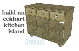 a quick and easy to build kitchen island u2013 designs by studio c