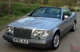 1996 mercedes e320 mint 1996 mercedes e320 cabriolet auto silver