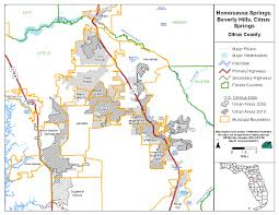 Citrus County Florida Map by Florida Dep Npdes Stormwater Program For Regulated Small Ms4s