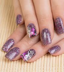 easy nail art glitter diy easy glitter nail arts
