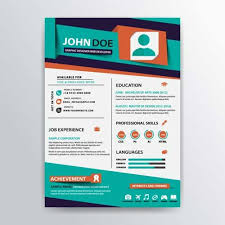 illustrator resume templates resume template designs you can and edit for free