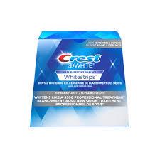 crest supreme whitening strips bandes crest 3d white whitestrips luxe suprême flexfit