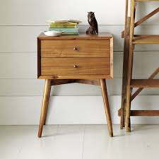 Bed Side Tables by West Elm Bedside Table U2013 Alexbonan Me