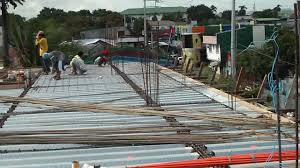 steel decking 4th floor roof slab youtube