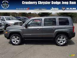 jeep dark gray 2014 mineral gray metallic jeep patriot sport 4x4 80425376