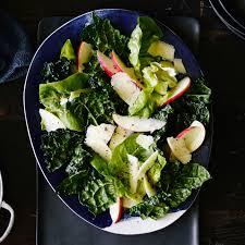 Thanksgiving Greens Fall Greens And Apple Salad Recipe Myrecipes