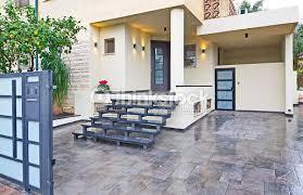 modern mediterranean house modern mediterranean house entrance stock photo thinkstock