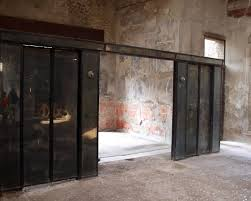 house of the wooden partition sliding partition doors