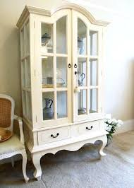 French Provincial Armoire Glass Door Armoire U2013 Blackcrow Us