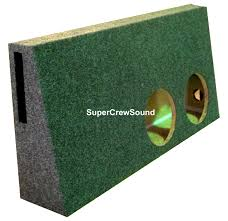 nissan frontier subwoofer box ford f 250 f 350 subwoofer boxes and dual subwoofer enclosure