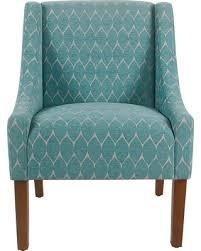 Accent Chair Modern Deal Alert Modern Swoop Accent Chair Textured Teal Blue Homepop