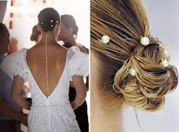 pearl hair pins how to mermaid pearl hairpins at chanel this is glamorous